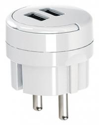 Адаптер с двумя USB гнездами