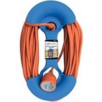 Рамка пластиковая круглая для намотки кабеля Electraline