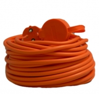 Удлинитель садовый Electraline 20 метров,кабель ПВС 2х1мм2