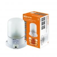 Светильник для сауны настенно-потолочный белый, IP54, 60 Вт, белый, TDM НПБ400
