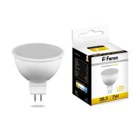Лампа светодиодная Feron LB-24  (5W) 230V G5.3 2700K